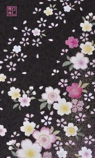 和柄の和紙名刺(ws20.漆桜/アトリエひとしほ)