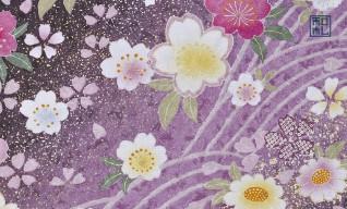 116.波桜/アトリエひとしほ*和柄名刺