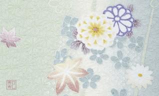 177.涼光/染の三喜*和柄名刺